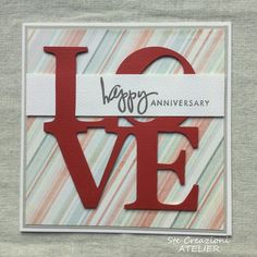 Ste creazioni: Card anniversario