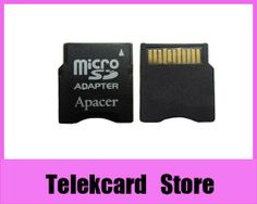 WHOLESALE Micro SD TF TO miniSD memory card adapter, MicroSD to Mini SD Adapter, 100pcs/lot $30.00
