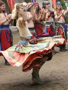 Dancing gypsies