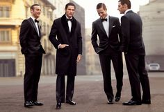 fashionisontherise:    This is how it looks like when gentlemen are having a small talk, how fashionable! #ErmengildoZegna