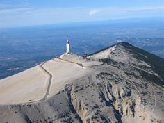 On Top of the Mont Ventoux in Provence, Southern France - i did it in great view Haute Provence, The Mont, Great Walks, Excursion, Ancient Ruins, Rhone, Travel Memories, Road Cycling, Aerial Photography