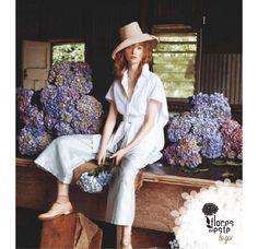 Las #hortensias siempre completarán tu look, sin importar la ocasión  #Colombia #Antioquia #moda