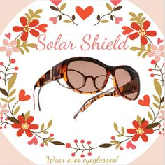 098ecbd8499 Know any women who wear eyeglasses  Tell them about Solar Shield -  sunglasses for eyeglass-wearers!
