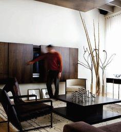 Hafele track system. Loft Living Room - contemporary - living room - atlanta - Joel Kelly Design
