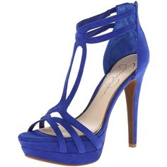 Amazon.com: Jessica Simpson Women's Salvati2 Platform Pump: Shoes found on Polyvore featuring shoes and pumps