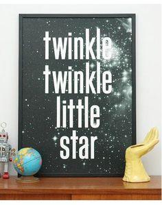 Keep Calm Gallery Twinkle Twinkle print