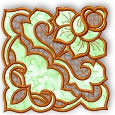 Advanced Embroidery Designs - Cutwork Lace Rosebud Doily