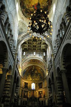 The interior of St Peters Basilica