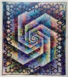 'Fibonacci Fandango' by Jess Williams | Flickr - Photo Sharing! Paperpieces.com English Paper Piecing Hexies