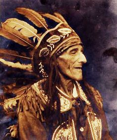 Bill Moose Crowfoot - He is regarded to have been the last of the Wyandot Native Americans who lived in Central Ohio.