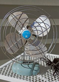 Feel The Breeze with This Retro Wizard Fan. $22.00, via Etsy.