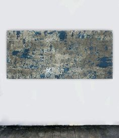 Canvas art large abstract painting huge wall art gray grey blue teal white painting concrete modern minimalism contemporary by studioARTificial on Etsy https://www.etsy.com/listing/159073720/canvas-art-large-abstract-painting-huge