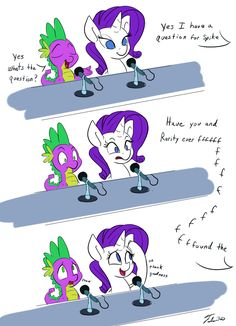 """"""" 30 minute Challenge - Ponies at Cons Context: Apparently this happened at Bronycon, I wasn't there but this is what I was told…. In a panel with Cathy (VA of Spike) A man with a speech. My Little Pony Comic, My Little Pony Drawing, Mlp Spike, Human Mlp, Mlp Memes, Little Poni, Mlp Comics, Mlp Pony, My Little Pony Friendship"""