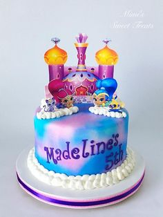 Shimmer and Shine - Cake by MimisSweetTreats