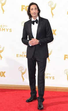 Adrien Brody from 2015 Emmys: Red Carpet Arrivals | E! Online