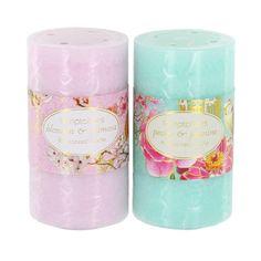 Bird and Flower Medium Pillar Candle £4.50 each   #candles