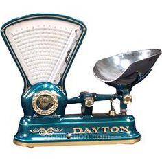 Vintage Countertop Dayton 3lb. Candy Store Scale
