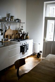 I want a cat for the kitchen... when I have a kitchen this nice.