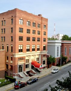 The YMCA building on Sumter Street, Columbia, S.C. - used to swim ther every morning before I went to work.