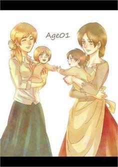 Little Armin and Eren