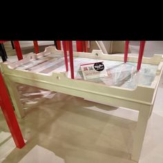 Map coffee table at oomph. Updated coastal, nice finish and great size #hpmkt