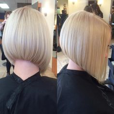 """20 Likes, 1 Comments - Sonique Hair Design (@soniquehairdesign) on Instagram: """"Awesome bob cut by stylist Ivana.  @soniquehairdesign #soniquehairesign #redken #redkenready #bob…"""""""