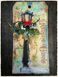 Simon Says Stamp Blog!: 9 of the 12 Tags of Christmas by Tim Holtz!