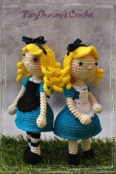 Amigurumi doll - Alice - Tutorial by FairyGurumi's Crochet