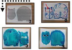 Exploitation de l'album Petit Noun, en arts visuels - Mitsouko au CP