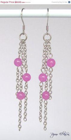 20 OFF stainless steel lilac earrings by BijouxElkasa on Etsy, $6.40