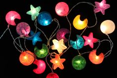 35 LED Galaxy Mulberry paper Lanterns by DDLIGHTS