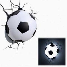 Lámpara Balón de Fútbol   Regalos de Navidad