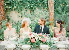 Bohemian Garden Wedding Inspiration  Read more - http://www.stylemepretty.com/2014/01/28/bohemian-garden-wedding-inspiration/