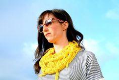 15 Fun, Fabulous FREE Fringed Crochet Patterns: Tassel Fringe Infinity Scarf Free Crochet Pattern via @aboutathome @aboutdotcom
