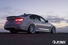 HRE Performance Wheels BMW M3 with #HRE R101 Lightweight in Gloss White by TAG Motorsports