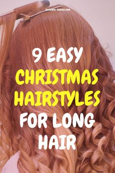 Looking for some Christmas hairstyle ideas? These holiday hair ideas will give you all you need: from last minute style to festive hairstyle with accessories! Simple Christmas, Christmas Ideas, Hairstyle Ideas, Hair Ideas, Christmas Hairstyles, Step By Step Instructions, Festive, Long Hair Styles, Accessories