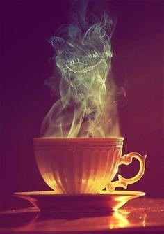 Cheshire Smoke - Alice in Wonderland