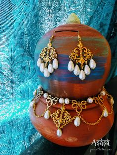 Classic Gold & Pearl jewelry