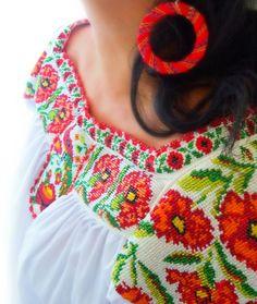 carmelita de mis amores blusa de chaquira / Mexico Hecho a Mano por Elizabeth palmer - Artesanio