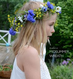 Flower Craft | Midsummer Flower Crowns
