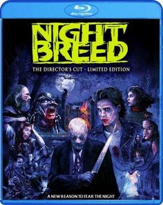 Nightbreed Is An American Dark Fantasy Movie That Was Based On Writer And Director Clive Barker's 1988 Novella Cabal. Director And Writer Clive Barker (Hellraiser Lord… 1990 Movies, Blu Ray Movies, New Movies, Movies To Watch, Movies Online, Strangers When We Meet, Craig Sheffer, Newest Horror Movies, Horror Films
