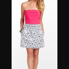 68eed077f8face Lilly Pulitzer Anchor Dress Romper With Skirt, Dress Up, Anchor Dress,  Summer Dresses