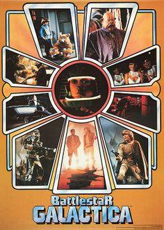 Original Battlestar Galactica poster
