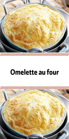 Omelette au four Breakfast Tortilla, Egg Tortilla, Corn Tortilla Recipes, Breakfast Recipes, Tortilla Wraps, Breakfast Ideas, Best Omelette, Omelette Recipe, Magdalena