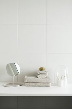 Flip mirror by Normann Copenhagen. From the blog Varpunen, photo by Susanna Vento.