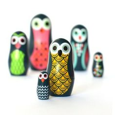OMM Design Pocket Owls