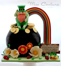 Happy St Patrick's Day to One & All! - Cake by misscouture 21st Cake, 21st Birthday Cakes, Birthday Nails, Birthday Wishes, Birthday Parties, St Patricks Day Cakes, Happy St Patricks Day, Cake Wrecks, Holiday Cakes