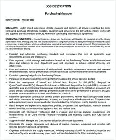 Purchasing Manager Resume Construction And Facilities Manager Resume  Facility Manager