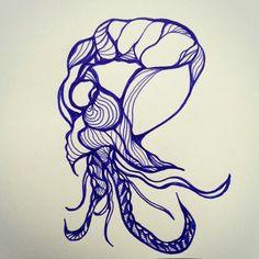 Aqua Monster. .... pen and paper!