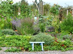 An herb garden that looks as good as it smells  Photo by ArtCatcher/Courtesy of Flickr